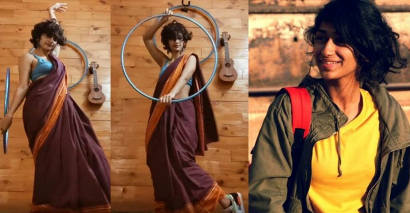 What made Eshna Kutty an overnight hula hoop sensation