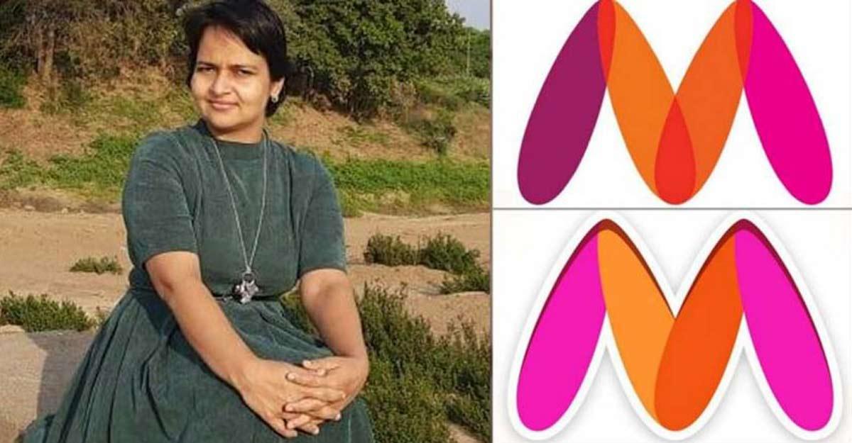 How social activist Naaz Ekta Patel 'corrected' Myntra logo