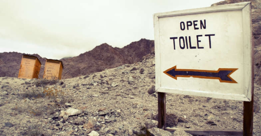 Count your toilets before firing salvos at Kerala