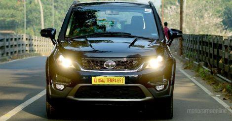 Tata Hexa: An SUV'ish crossover
