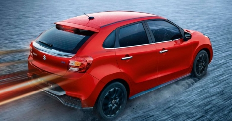 Sporty Baleno RS promises blistering performance
