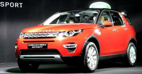 Land Rover`s Discovery Sport