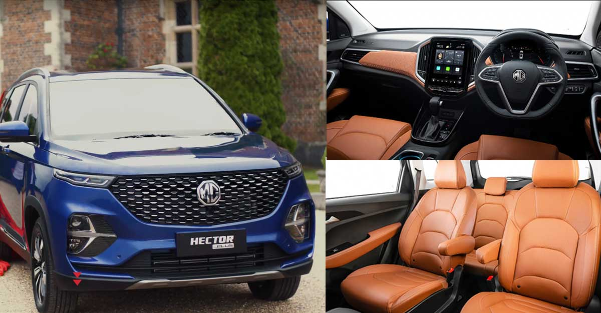 MG Motor India launches seven-seater version of SUV Hector
