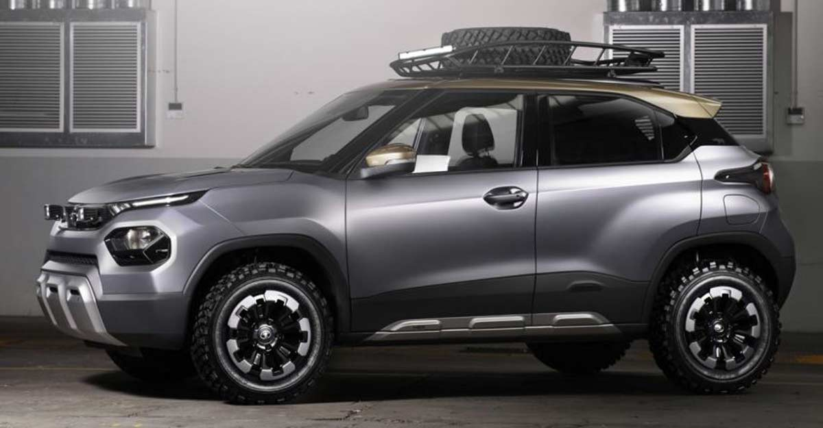 Tata's new micro SUV getting ready for launch