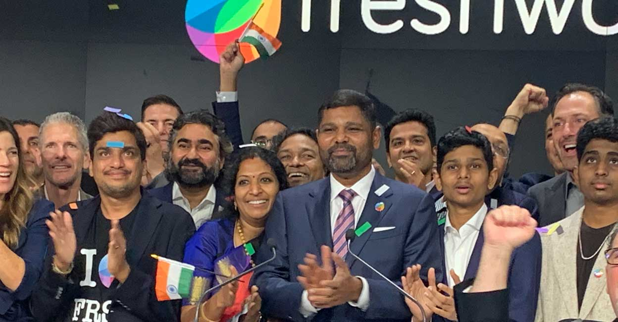 Freshworks IPO creates more than 20 crorepatis in India, with 20 ...