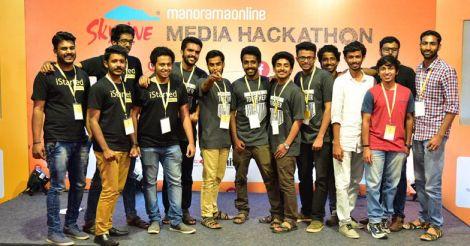 Manorama Online media hackathon concludes, 3 teams in final round