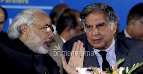 Narendra Modi and Ratan Tata
