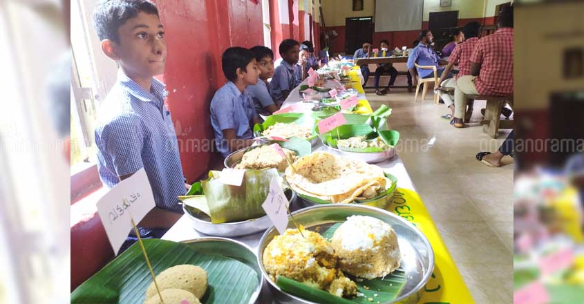Take your pick! Students dish out over 250 nutritious food