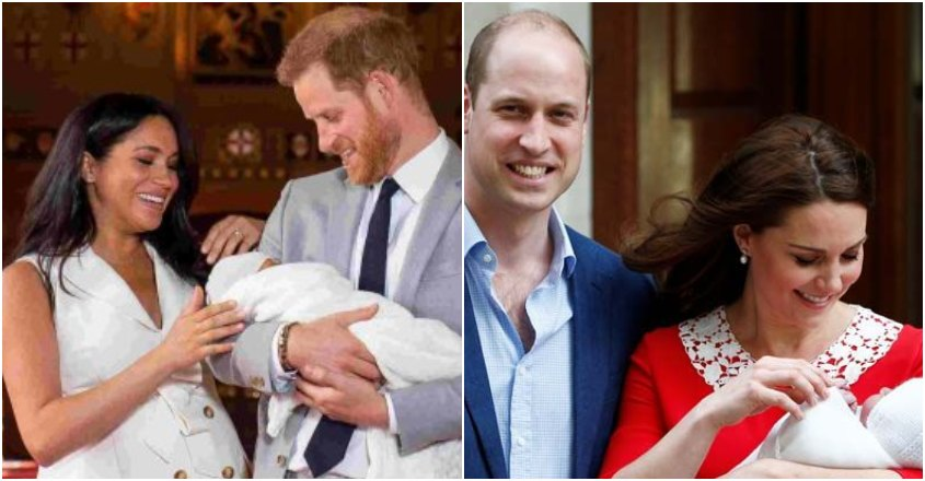 How new royal mom Meghan compares to Kate