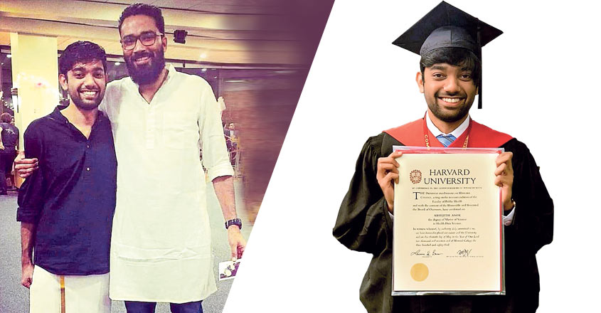Here's Abhijith Ashok who upheld Kerala's pride at Harvard