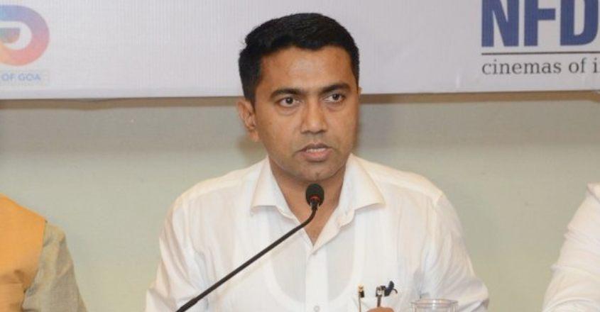 Chief Minister Pramod Sawant