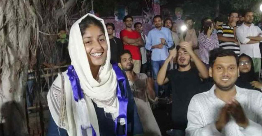 Why JNU's Afreen Fatima can't be cowed down by Left or Right