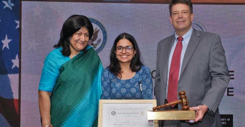 Unnati Ashish Ghia wins US-India comparative constitutional law debate