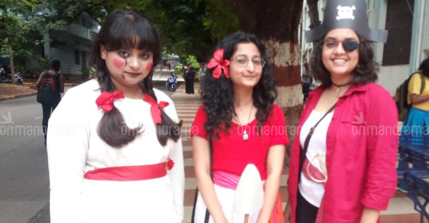 Cosplay is in vogue, check out EFLU students' funny avatars