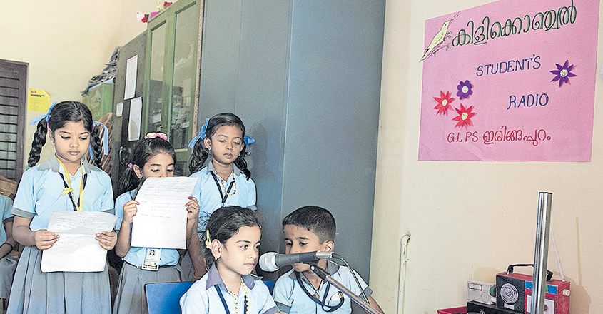 LP school students tune in to their own radio