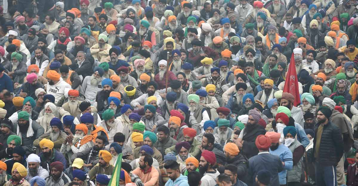 Column   No end in sight to farmers' agitation