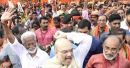 Threatening, provocative slogans expose BJP's call for peace in Kerala