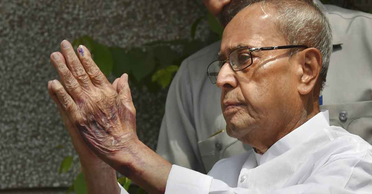 For person extraordinaire Pranab Mukherjee, sanctity of the Constitution mattered most