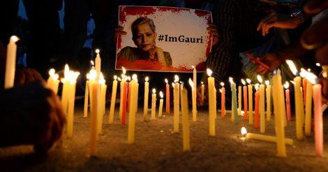 Gauri Lankesh murder: a death blow to shrinking media freedom