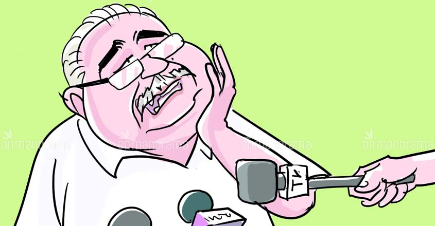 Column | Mic testing acquires a whole new meaning in Kerala after Kanam's illness