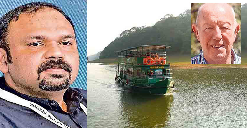 A tourist from Ireland died after passing out in a boat in the Thekkady Lake.