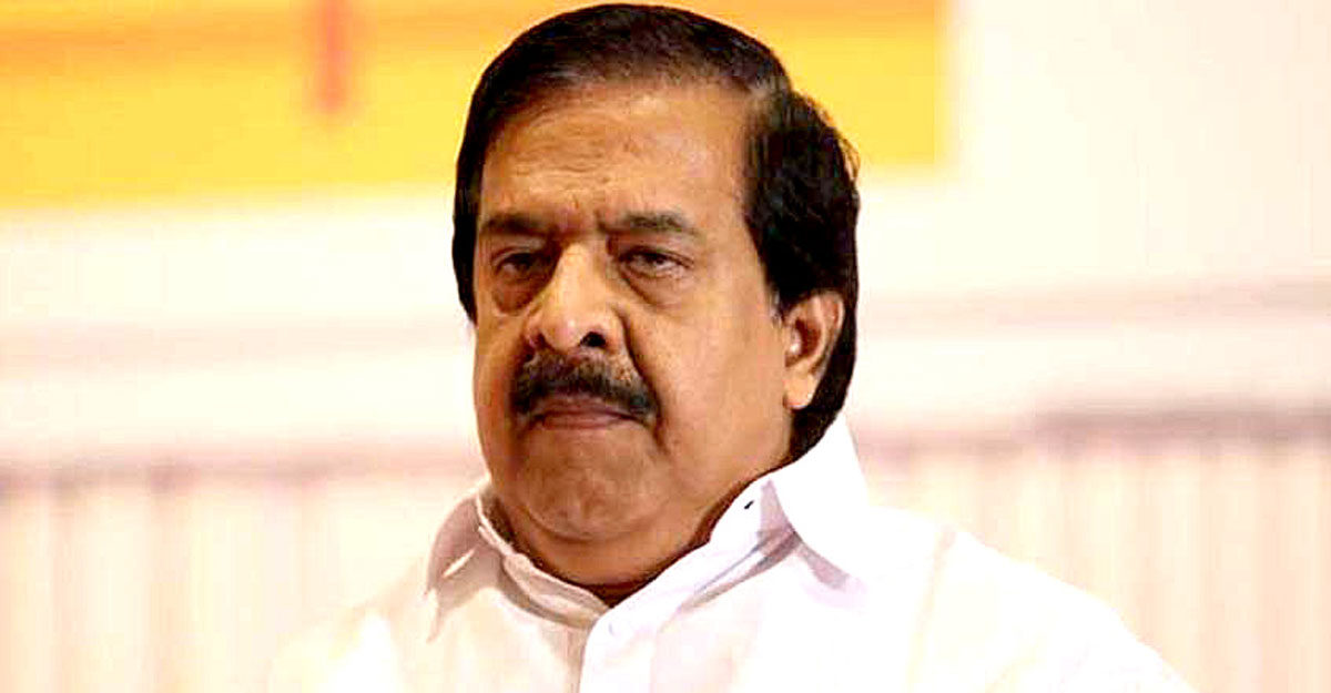 When Ramesh Chennithala gets a 'red salute'