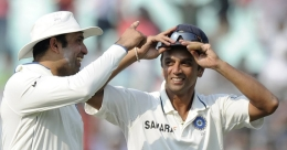 Harbhajan shares montage of  'outstanding catcher' Dravid