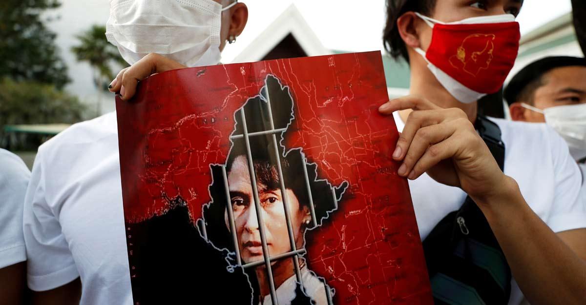 Column   No Tears for Aung San Suu Kyi