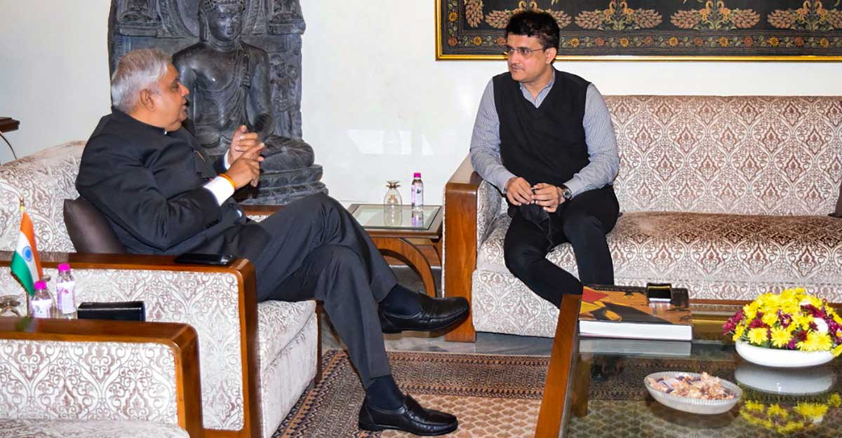 Sourav Ganguly holds meeting with WB Guv amid speculation of him joining politics