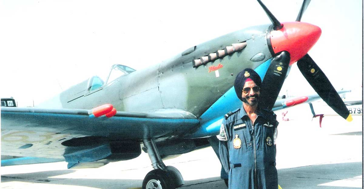 And, God gets a co-pilot in AVM Ajit Lamba