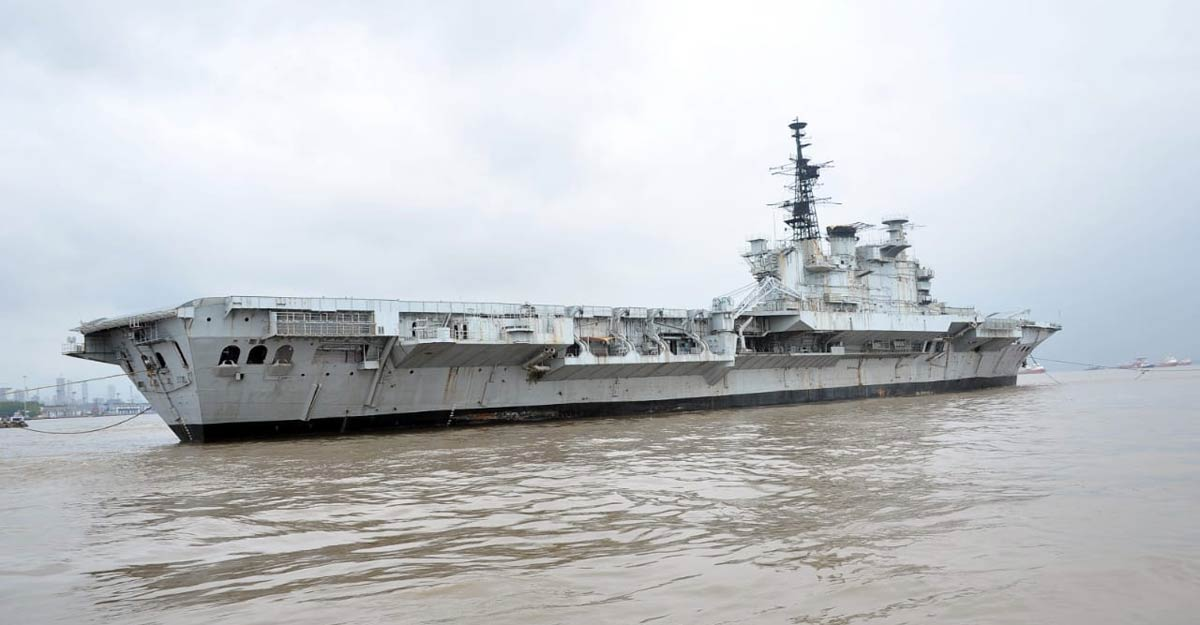 SC orders status quo on dismantling of decommissioned aircraft carrier INS Viraat
