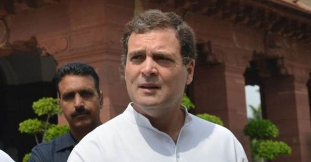 Prime Minister has conceded land to China: Rahul Gandhi