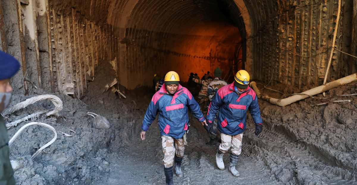 Two more bodies recovered from Tapovan tunnel, disaster toll rises to 58