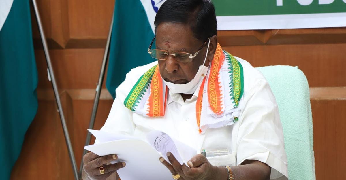 One more Congress MLA resigns in Puducherry, govt slips into minority