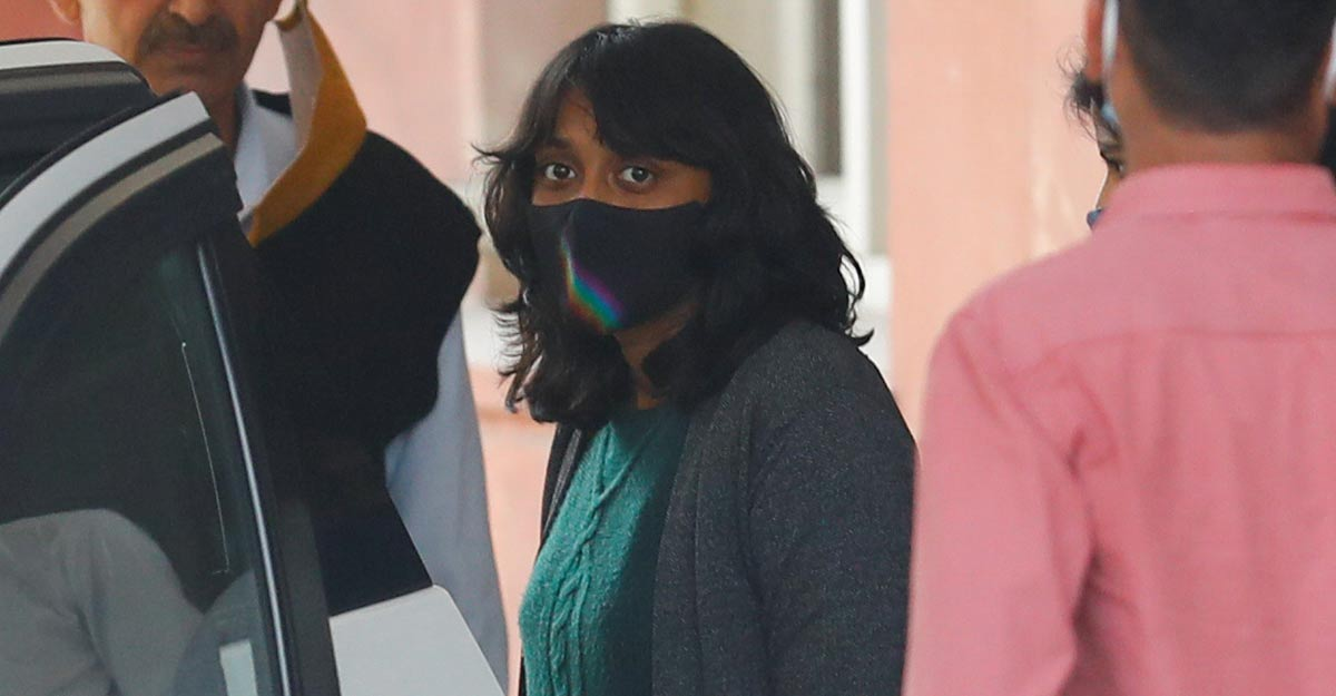 Disha Ravi gets bail in 'Toolkit' case; Court terms evidence 'scanty and sketchy'