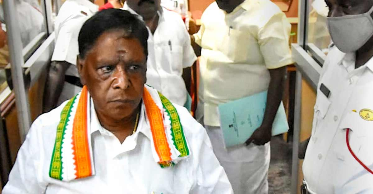 BJP at it again! Yet another Congress govt toppled, Puducherry's latest