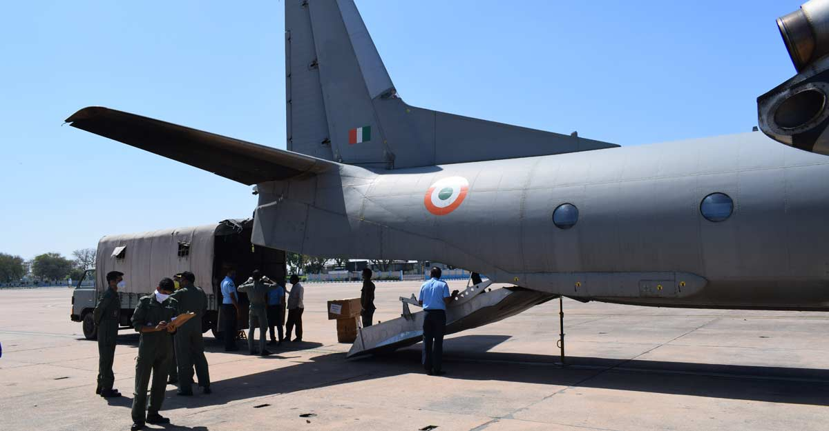 Unsung air warriors from AFS Agra recall tales of war against the virus