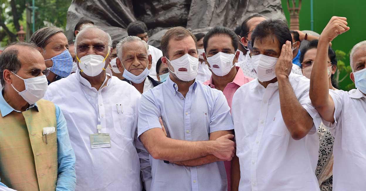 Pegasus row: Rahul demands Amit Shah's resignation, SC probe against PM Modi | India News | Onmanorama