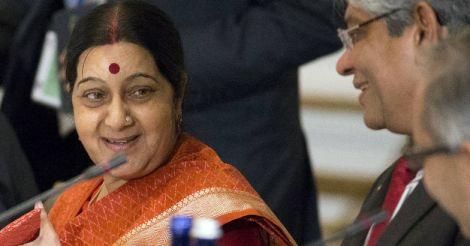 I'm not in presidential race: Sushma Swaraj dismisses 'rumours'