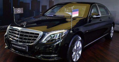 Mercedes-Benz Mayback S600 Guard