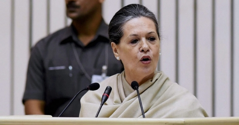 Presidential election is battle of ideology and principles: Sonia Gandhi