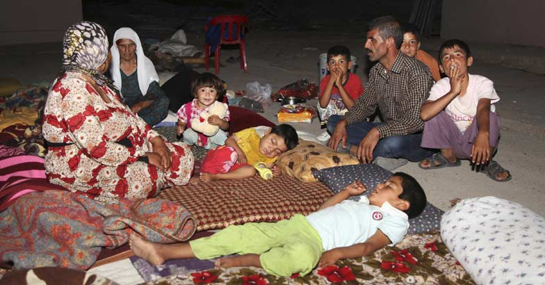 yazidi-refugees