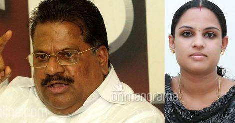 EP Jayarajan and Deepthi Nishad