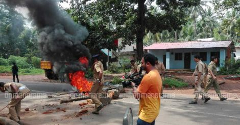 Mukkam burns again as protesters clash with police