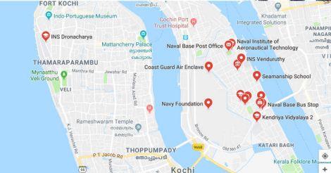 Navy's UAV crashes in Kochi ahead of vice-president Naidu's visit