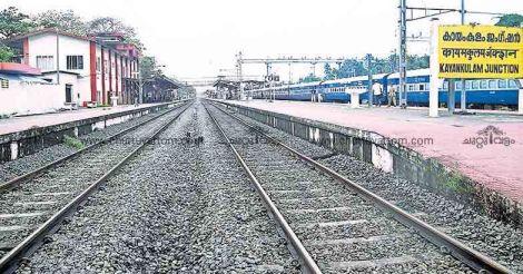 No green signal to development at Kayamkulam station