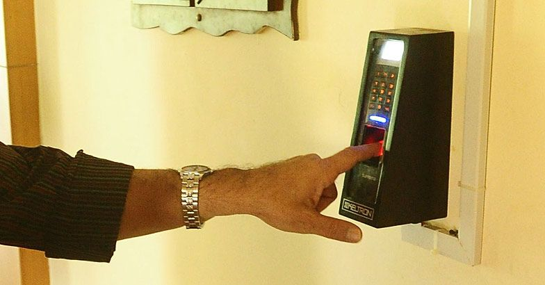 Biometric attendance must in Secretariat from Jan 1