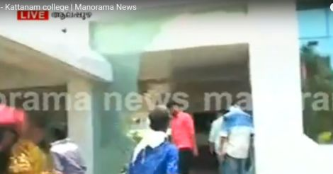 Suicide attempt: case filed against principal of Vellappally Natesan college