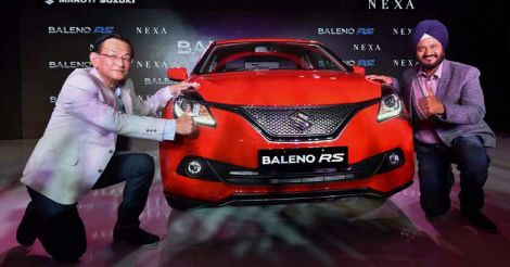 Maruti launches Baleno RS priced at Rs 8.69 lakh