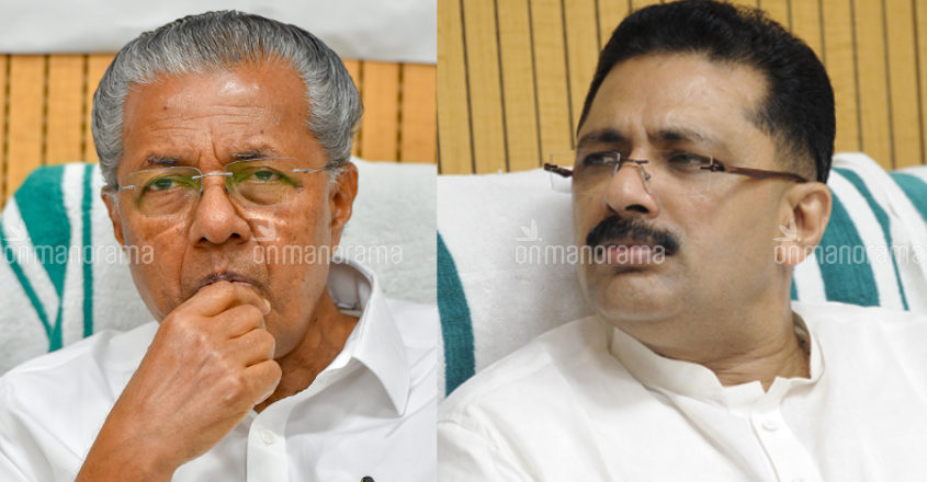 Pinarayi defends Jaleel, declares war on protesters and media